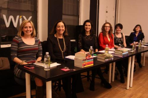 The expert panel on the making of a bestseller!Photo credit Galo Delgado.