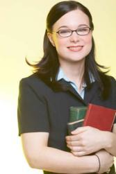 glasses-woman-books